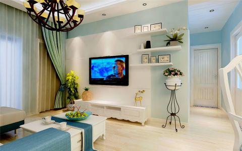 地中海风格170平米大户型新房装修效果图