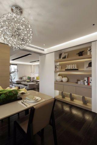 餐厅灯具现代简约风格装饰设计图片