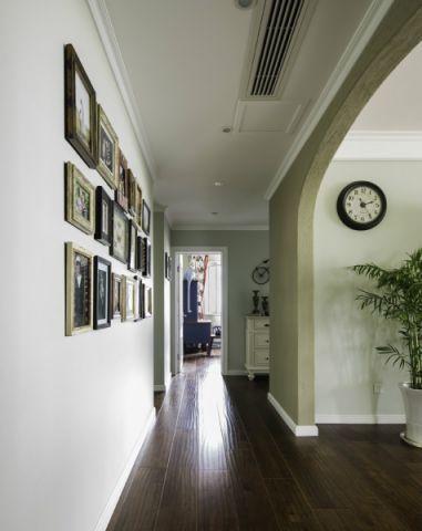 玄关照片墙美式风格装修设计图片