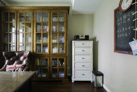 书房美式风格装修效果图