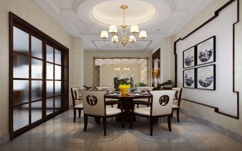 美式风格500平米别墅房子装饰效果图