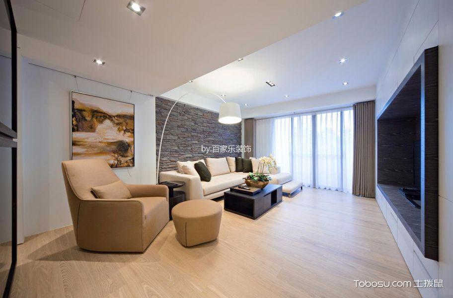 苏州云山诗意130平米现代风格效果图