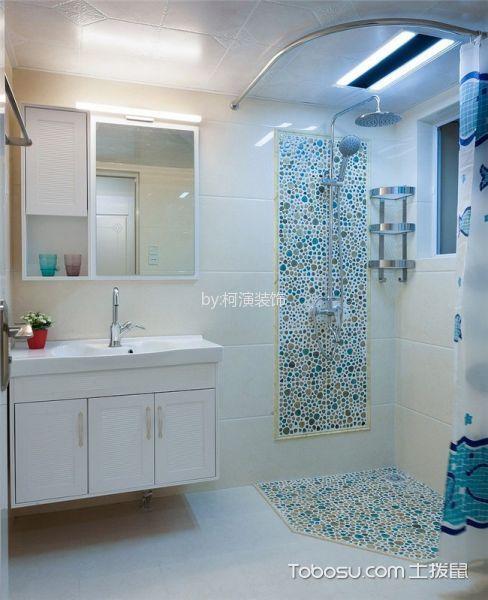 卫生间 洗漱台_地中海风格170平米四室两厅室内装修效果图