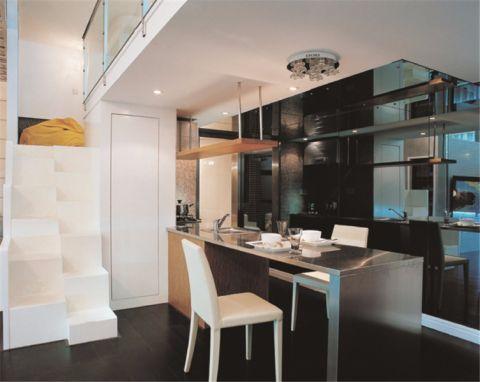 简约风格90平米小户型新房装修效果图