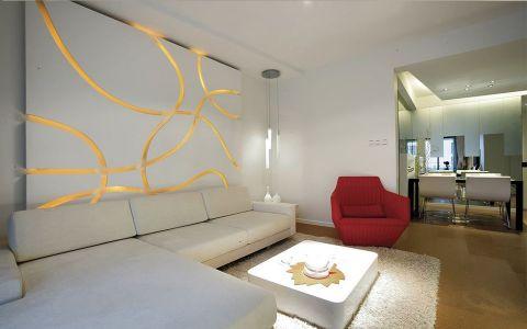 简约风格180平米楼房室内装修效果图