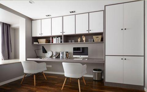 现代风格120平米楼房室内装修效果图