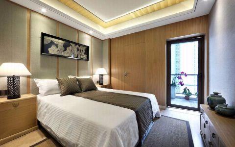 卧室床头柜中式风格效果图