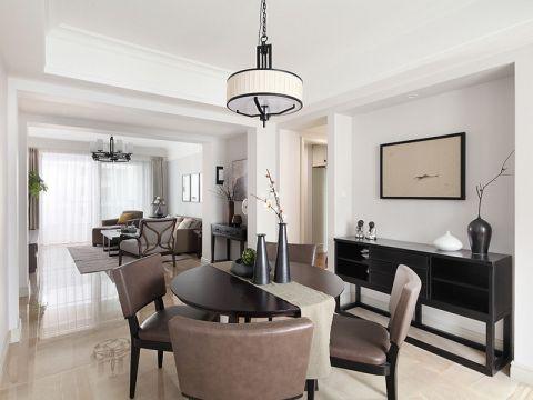 现代风格129平米大户型房子装饰效果图