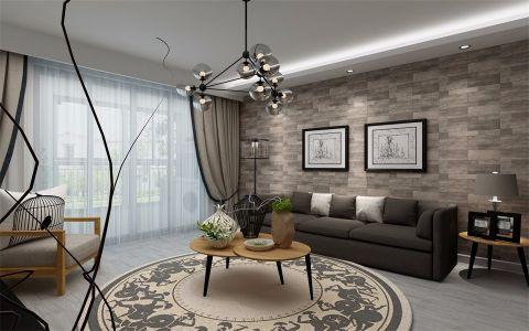 北欧风格70平米小户型房子装饰效果图