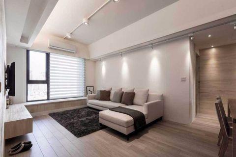 北欧风格70平米小户型室内装修效果图