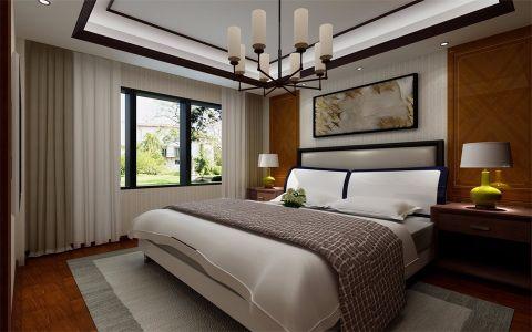 卧室灯具新中式风格装饰图片