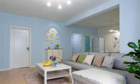 地中海风格170平米四室两厅室内装修效果图