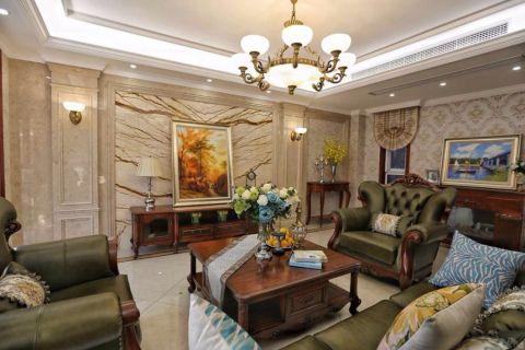 新古典风格250平米大户型室内装修效果图