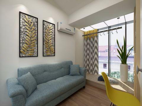 书房沙发日式风格装潢图片