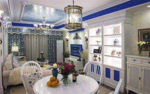 地中海风格90平米小户型新房装修效果图