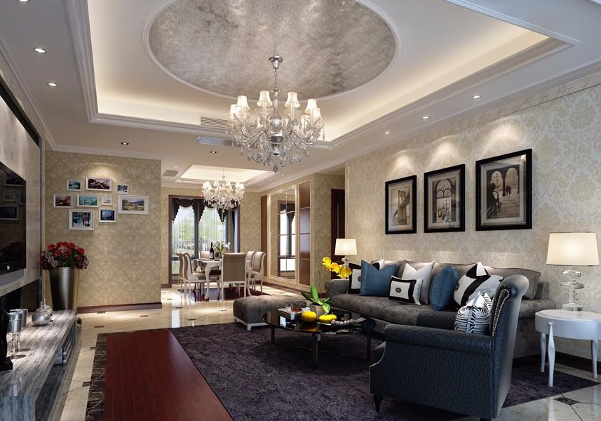 4室2卫2厅140平米新古典风格