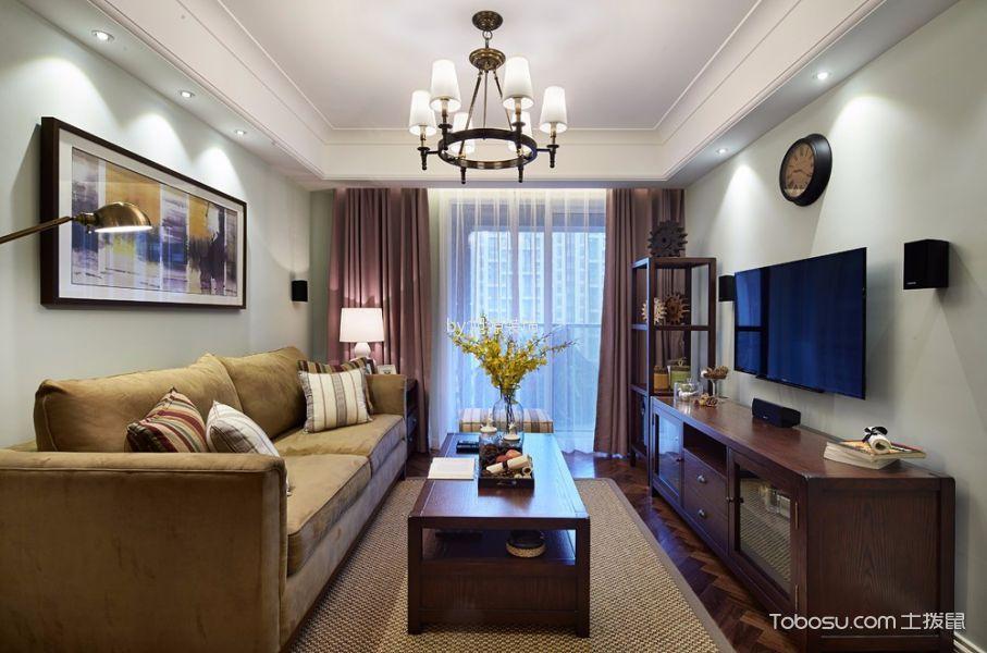 简约风格108平米3房2厅房子装饰效果图