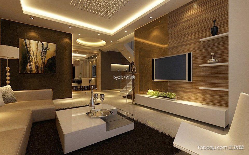 韩式风格160平米复式室内装修效果图
