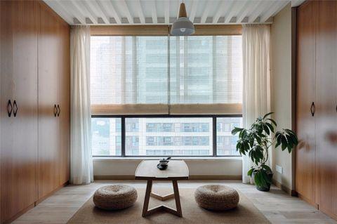 书房窗帘日式风格装修效果图