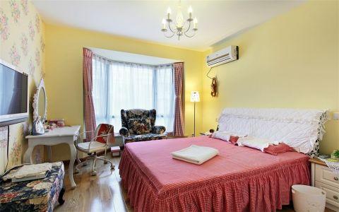 卧室背景墙地中海风格效果图