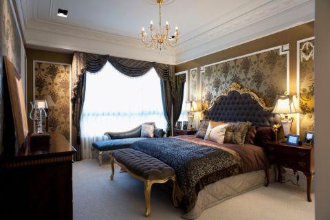 卧室吊顶欧式风格装潢图片