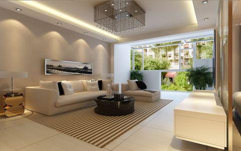 简约风格120平米楼房房子装饰效果图