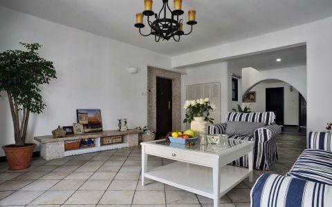 地中海风格222平米跃层新房装修效果图