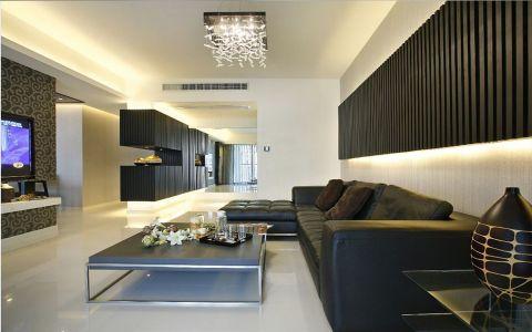 现代风格90平米小户型新房装修效果图