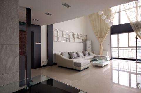 现代简约风格200平米跃层房子装饰效果图