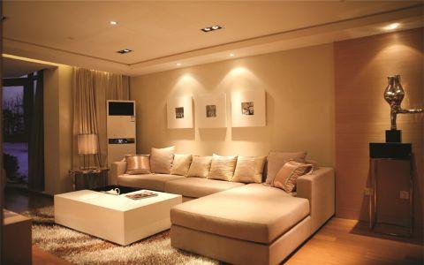现代简约风格92平米2房2厅房子装饰效果图