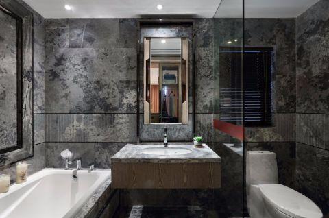 卫生间背景墙欧式风格装修效果图