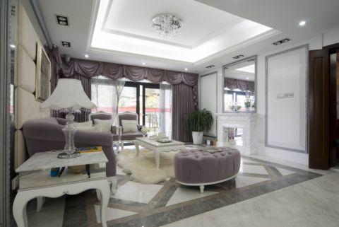 欧式风格300平米别墅房子装饰效果图