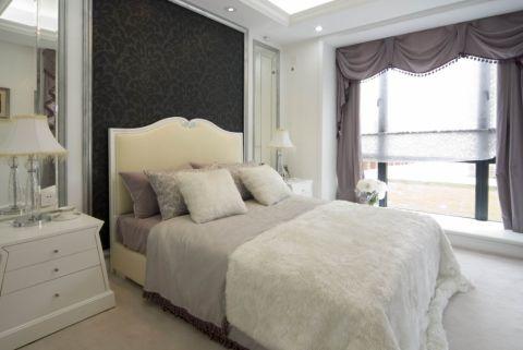 卧室窗帘欧式风格装饰图片