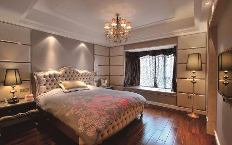 卧室窗帘法式风格装饰设计图片