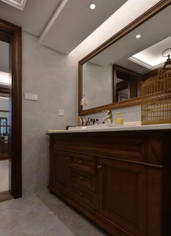 卫生间吊顶混搭风格装潢效果图