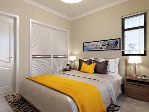 卧室衣柜北欧风格装修效果图