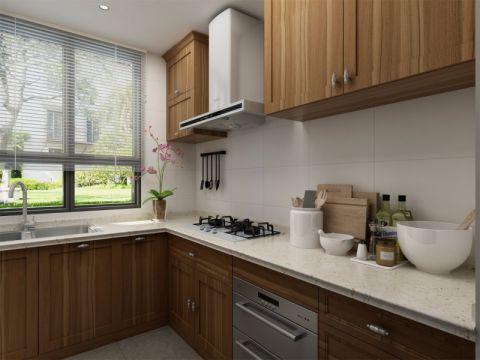 厨房橱柜简中风格装饰图片