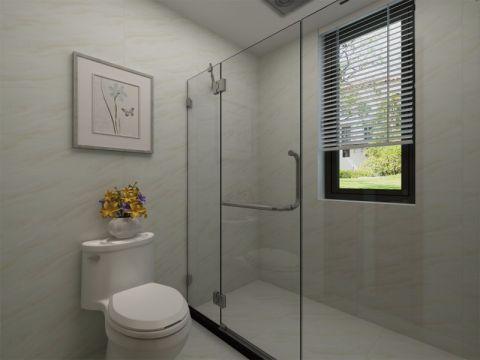 卫生间窗帘简中风格装饰设计图片