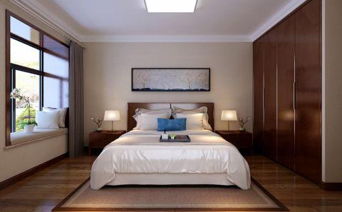 卧室窗帘中式风格装潢图片