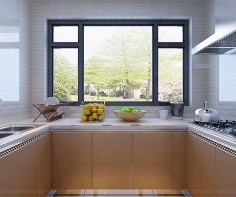 厨房背景墙中式风格效果图