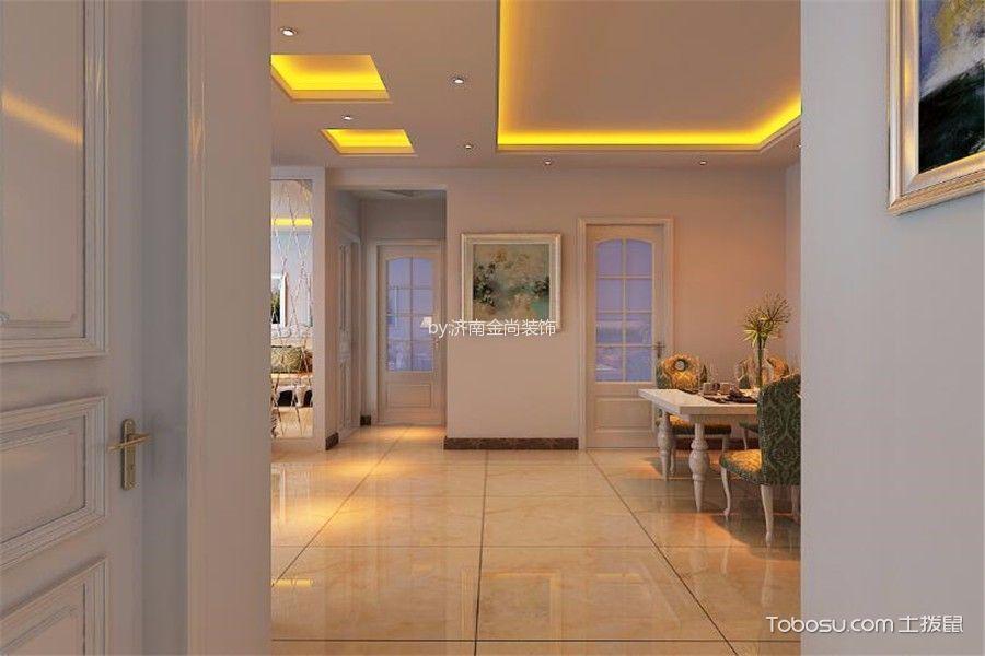 餐厅米色走廊欧式风格效果图