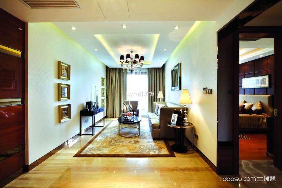 现代风格134平米2房2厅房子装饰效果图