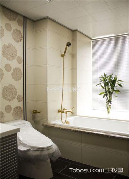 卫生间 窗帘_现代风格120平米大户型房子装饰效果图