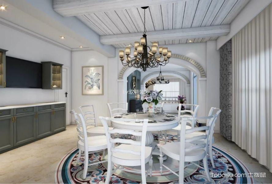 餐厅 餐桌_北欧风格300平米别墅房子装饰效果图