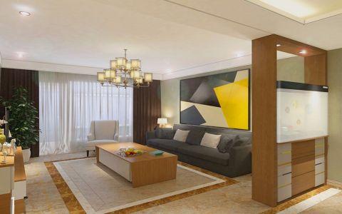 现代简约风格113平米3房2厅房子装饰效果图