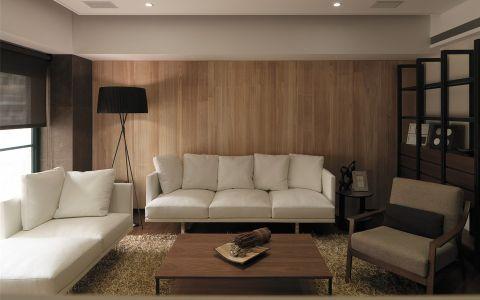 混搭风格120平米三室两厅室内装修效果图