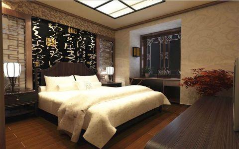 新中式风格120平米大户型房子装饰效果图