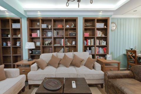 客厅博古架现代简约风格效果图