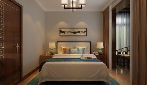 卧室窗帘中式风格装饰设计图片