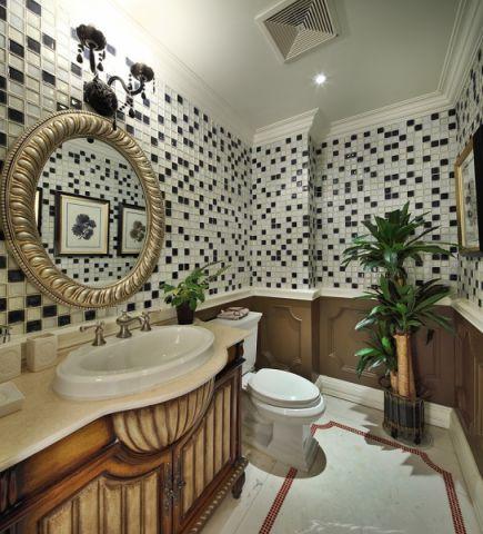 卫生间吊顶简约风格装潢图片